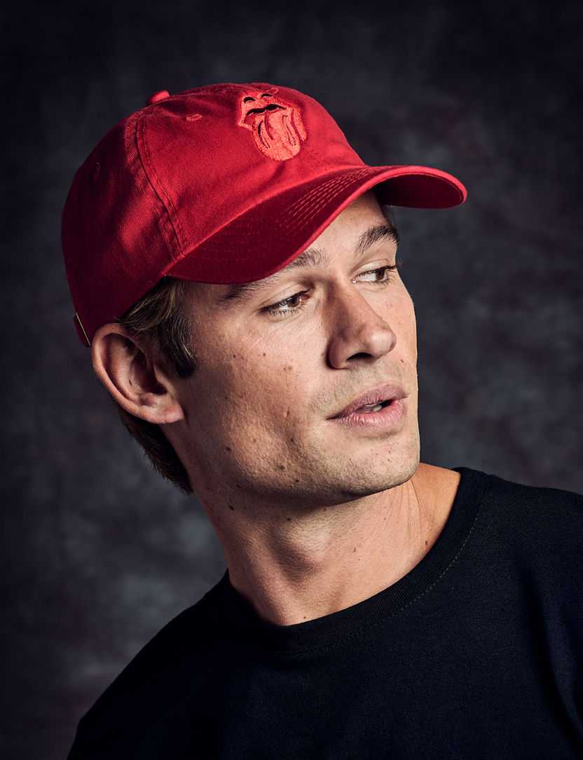 Stones Red Tonal Tongue Dad Cap