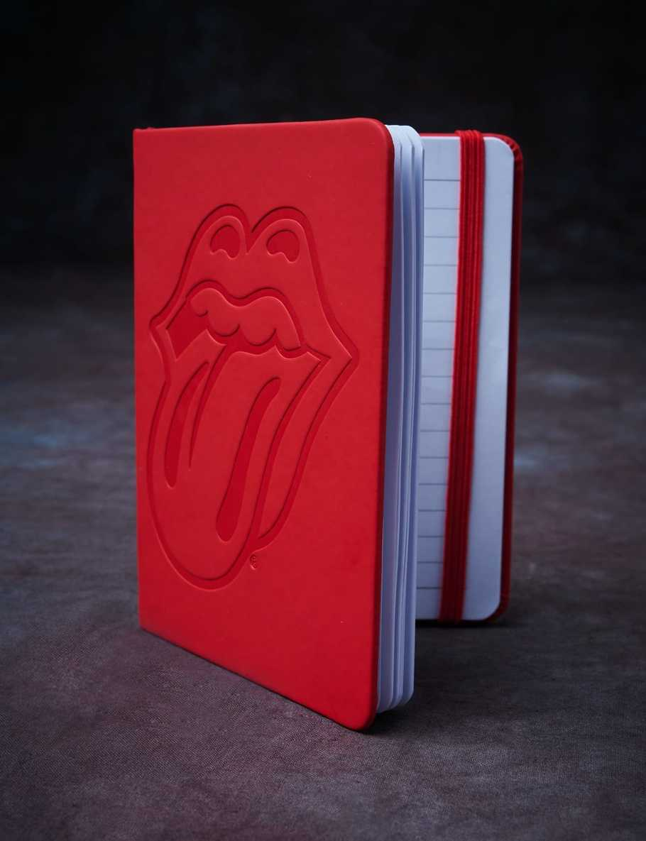 Stones Red Tongue A5 Notebook